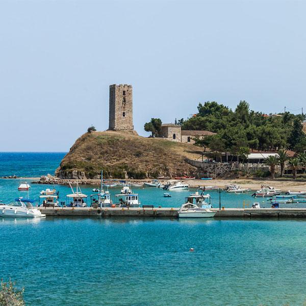 Thessaloniki to Nea Fokaia, Halkidiki Private Day Trip