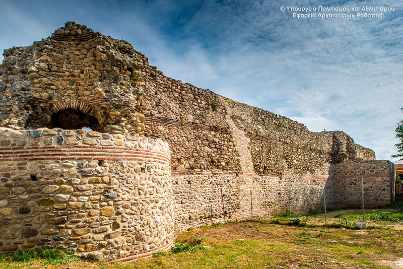Fortress and the Byzantine Wall of Komotini