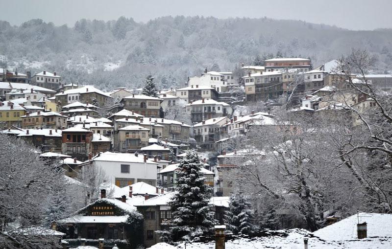 Thessaloniki to Metsovo