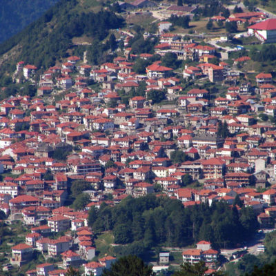 Thessaloniki to Metsovo