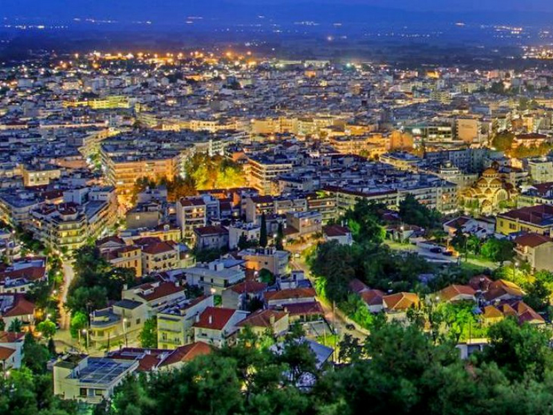 Serres, Macedonia, City Lights, Hello Thessaloniki