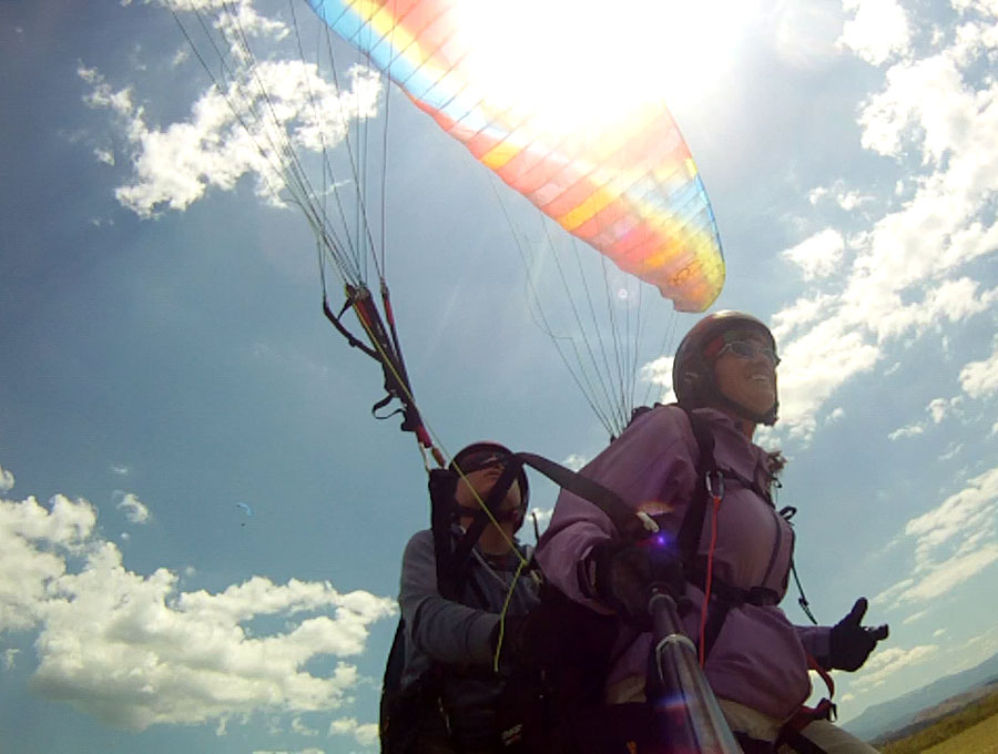 Paragliding at Zagori of Ioannina