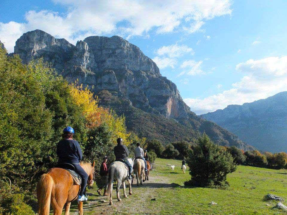 Horse Riding at Zagori of Ioannina