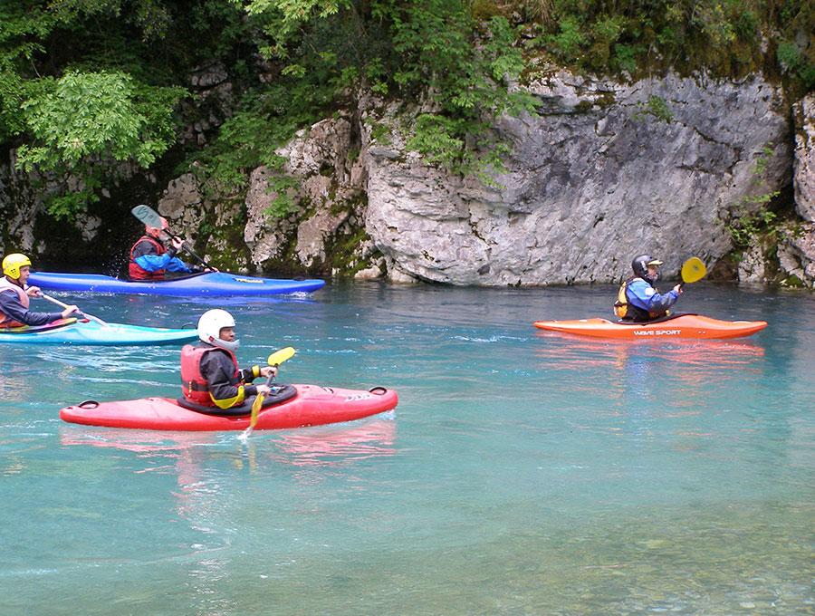 Kayak at Zagori of Ioannina