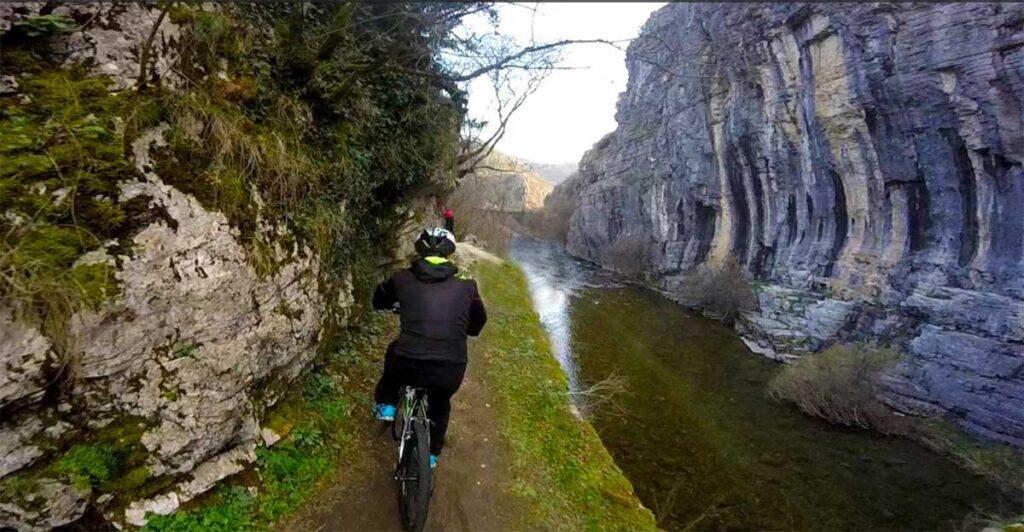 Mountain Bike at Zagori of Ioannina
