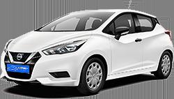 Eco-Motion Car Rental, Nissan Micra