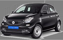 Eco-Motion Car Rental, Smart ForFour