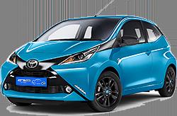 Eco-Motion Car Rental, Toyota Aygo