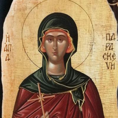 Αγία Παρασκευή, Saint Paraskevi Wooden Orthodox Christian Iconography