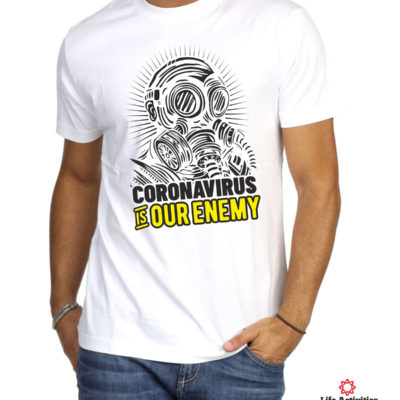Corona Virus Tshirt, Coronavirus is our enemy