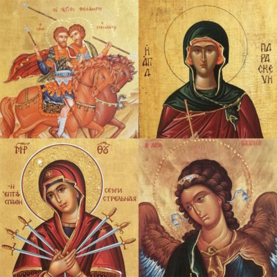 Wooden Orthodox Christian Iconography