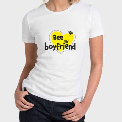 Hello T-Shirt Design 2020-2017B, Bee My Boyfriend
