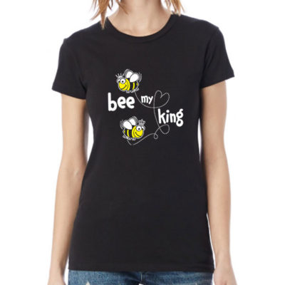 Hello T-Shirt Design 2020-2038B, Bee My King
