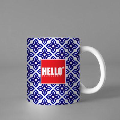 Hello Decorative Colorful Mug, 2019-025, Gift for Friend, Gift For Her, Gift for Mom, Gift for Him, Coffee Cup