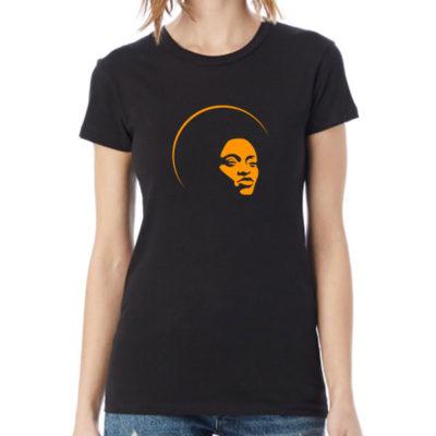 Hello T-Shirt Design 2020-2064, Afro Woman