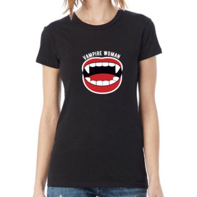 Women T-Shirt 2020-0002, Vampire Woman