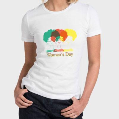 Women T-Shirt 2020-0003, Women's Day