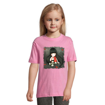 Tshirt for girls, Gorjiuss With Red Hearts 0005