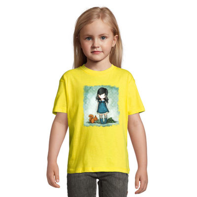 Tshirt for girls, Gorjiuss With A Squirrel 0010