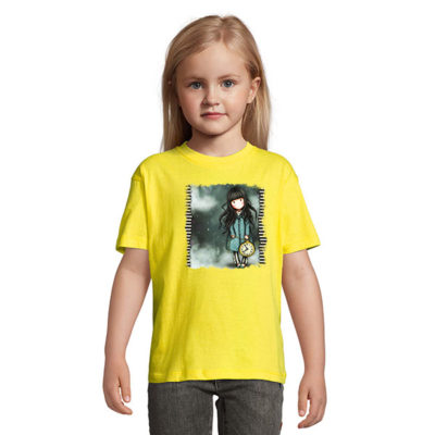 Tshirt for girls, Gorjiuss With A Clock 0011