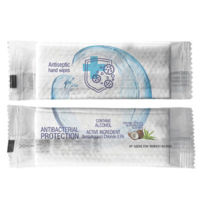 Αντισηπτικά Υγρά Μαντηλάκια - Antiseptic Individually Packed Wet Wipes