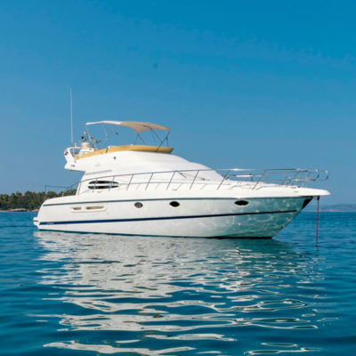 Daily Cruise in Sithonia of Halkidiki with VIP Motor Yacht
